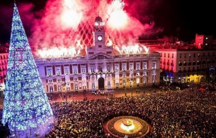 Нова година в Мадрид - със самолет, обслужване на български език